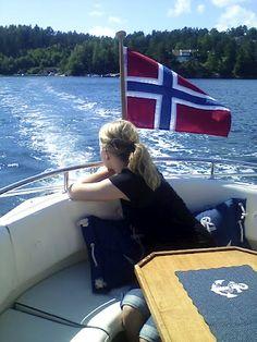 Summer in Lillesand. Norway.