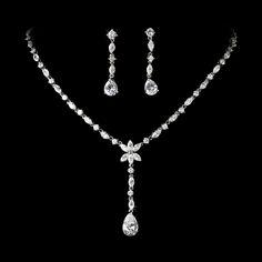 Radiant Jewelry - Wedding Jewelry Set, Prom Jewelry Set StressAwayBridalShop.com