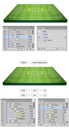 Hot to Create a 3D Soccer Field 29