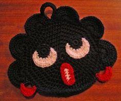 Touhumaa - Harrastelijan ihmemaa! Crochet Potholders, Knit Crochet, Crochet Home Decor, Marimekko, Crochet Accessories, Yarn Crafts, Handicraft, Pot Holders, Tejidos