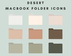 Iphone Wallpaper App, Macbook Wallpaper, Desktop Icons, Folder Icon, Iphone App Layout, Aesthetic Template, Collage Template, Planner Layout, Desktop Organization