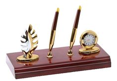 upto 65% off Desktop #Organizer with #Double #Pen #Stand WAUKN15006  --upto upto 65% off  Nothing spells success quite like this #desktop organizer with double pen holders set on a #brass   and #piano-finish #MDF base.  http://woodartsuniverse.com/catalog/product_info.php?cPath=28&products_id=240