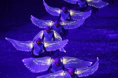 The Opening Ceremony of the London Summer Olympic Games.  Photo: Brian Peterson, @Star Tribune