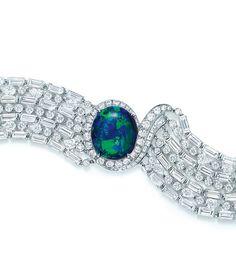 Bracelet The Art of the Sea en opale noire de Tiffany & Co.