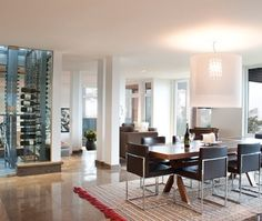 Open Concept Dining Room   House & Home