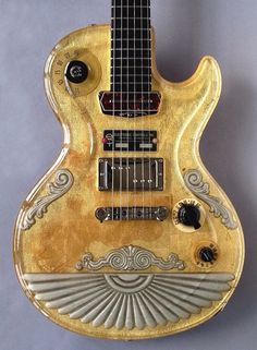 #Steam #Punk influence? Actually pretty, though for this #SPALT INSTRUMENT 'GoldTop Deco' 2013