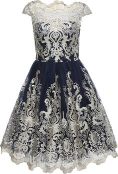 Kleid mit Tüll 'CHI CHI YAZZY' von Chi Chi London.