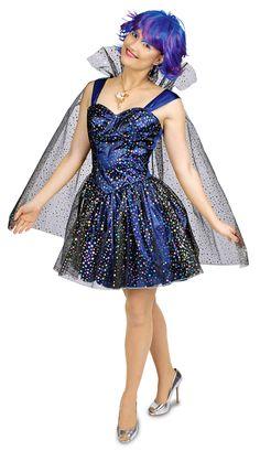 Es gibt Waldfeen, Weihnachtsfeen und Zahnfeen, warum sollte es dann nicht auch Sternenfeen geben? Dieses wunderschöne dunkelblaue Kleid mit Umhang ist mit Sternen übersäht und verwandelt Sie in eine glitzernde Sternenfee zu Karneval,...