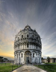 Italy, Pisa, Baptistery of Cathedral by Domingo Leiva, via 500px