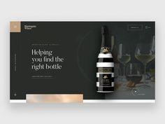 Web Design, Homepage Design, Site Design, Brochure Design, Branding Design, Luxury Website, Modern Website, Wine Websites, Wine Advertising
