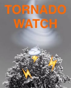 Attn: #May1people We are on Tornado Watch. Keep an 👀 on the sky. #thefirst100daysofmay  #TheDayofIronicInsight #THE100DAYPROJECT