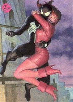 Dangerous Divas Insert Embrace E13 Mary Jane Watson Spiderman @ niftywarehouse.com #NiftyWarehouse #Spiderman #Marvel #ComicBooks #TheAvengers #Avengers #Comics