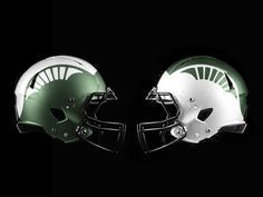 Check out these concept football helmets. How awesome would these be?!