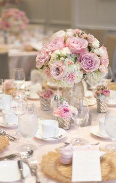 wedding centerpiece idea; photo: Nadia Hung Photography