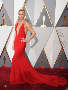 Oscars Well Played: Charlize Theron in Dior