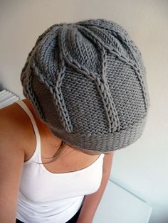 Bloom pattern by Veruschka Babuschka - hat with interesting stitch pattern