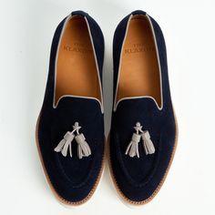 Cigar tassel slippers
