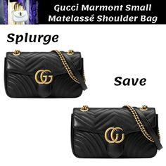 2fce7e4e0e9 Gucci Marmont Matelassé Bag Dupe Dupes