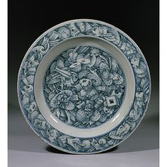 Dish  Date: 1550-1560 (made)  Place: Venice