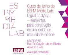 Última chamada para o curso de Digital Analytics do Media Lab ESPM.  Inscreva-se! http://bit.ly/1oxfzu5