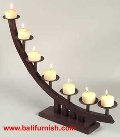 candle stick holder | Wooden Candle Holders Candle Stands Made in Indonesia by Balifurnish ...