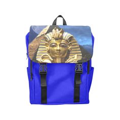 King Tut and Pyramid Casual Shoulders Backpack. FREE Shipping. FREE Returns. #lbackpacks #kingtut
