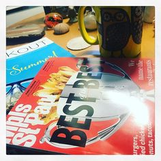 Coffee @mspmag on deck today. My radio partner @stephaniemarch puts her heart and soul into this beast every month and Best Of time is my favorite! . #stephmarch #mspmag #mspmagazine #bestofthebest #minneapolis #saintpaul #mplsfoodie