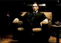 "Al Pacino in ""The Godfather""."