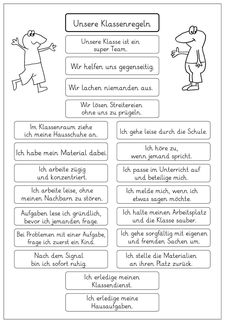 Lernstübchen: the rules in our class . Effective Classroom Management, Classroom Management Plan, Classroom Organisation, School Organization, Learning Techniques, Teaching Methods, Teaching Strategies, Absent Students, Teaching Profession