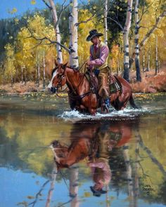Page not found - The Old West Art of Jack Sorenson Cowboy Artwork, Horse Artwork, Cowboy Pictures, Southwestern Art, Cowboy Horse, West Art, Le Far West, Country Art, Old West