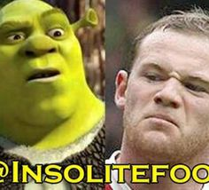 Wayne Rooney, Shrek du football!