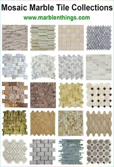 Mosaic Marble Tile for Bathroom, Kitchen and Living Room. #mosaic_marble_tile #bathroom_tile #kitchen-tile