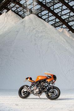 Custom Ducati 900SS Cafe Racer Photographed With True Biker Spirit