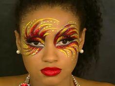 Carnaval maquillaje