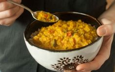 Nutritious and flavorful, with added heat from a jalapeo, this recipe is an ideal choice for a quick evening meal. Dal is one of the principal foods of the Indian subcontinent where the term can be used to mean either an ingredient or the dish made from it. If using green or black beluga lentils instead of red, the cooking time should be increased by 10 to 15 minutes. Serve over a bed of brown rice.