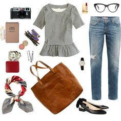 """""""what's in my bag"""" by calivintage on Polyvore"""