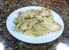 Chicken Rice Casserole in a Slow Cooker Monday, September 15, 2014