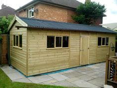 20 x 10 shiplap tongue and groove workshop shed sheds tanalised shiplap workshop with onduline roof workwithnaturefo