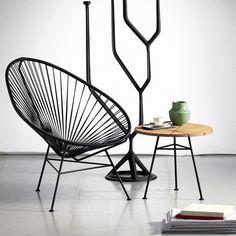 No solo las veras en la playa o en una terraza, las sillas acapulco también son perfectas para tus espacios interiores.