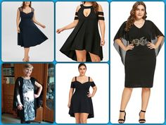 You're one stop Goodie Shop! Flattering Dresses, Maid Of Honor, Plus Size Outfits, Braids, At Least, Sexy, Shopping, Collection, Black