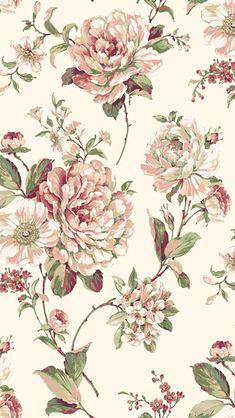 Vintage Flowers Wallpaper, Flower Wallpaper, Pattern Wallpaper, Wallpaper Backgrounds, Iphone Wallpaper, Antique Wallpaper, Wallpapers, Decoupage Printables, Floral Printables