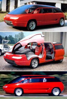 Lamborghini Genesis 1988 by Bertone. A powered MPV concept with butterfly front doors and sliding rear ones. Royce Car, Best Muscle Cars, Weird Cars, Futuristic Cars, Unique Cars, Top Cars, Future Car, Concept Cars, Custom Cars