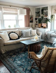 … Cozy Eclectic Living Room, Eclectic Decor, Inspiration Design, Interior Inspiration, Mug Design, Rug Size Guide, Victorian Decor, Small Space Living, Small Spaces
