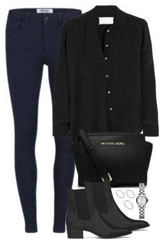 """""""Untitled #420"""" by flowercalder ❤ liked on Polyvore featuring ONLY, Maison Margiela, MICHAEL Michael Kors, Yves Saint Laurent, ASOS and Marc by Marc Jacobs"""