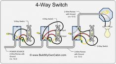 power at light 4 way switch wiring diagram electrical wiring residential wind turbines diagram 3 way and 4 way switch wiring for residential lighting tom remus electric