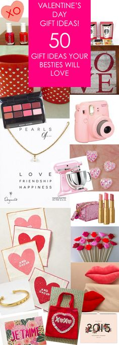 50 Valentine's Day Gift Ideas that Your Besties Will Love!