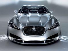 car wallpaper for silver Jaguar C-XF Concept car - Car Wallpaper