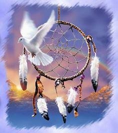 Capteur de rèves ( Dreamcatcher ) - les peuples amérindiens