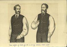 1875-1876 Waistcoats