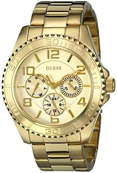 Women s Wrist Watches - GUESS Womens U0231L2 MultiFunction GoldTone Sport  Watch    Read more reviews 2bc46b5cc87